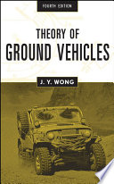 Theory of Ground Vehicles Book