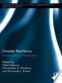 Disaster Resiliency