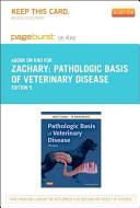 Pathologic Basis of Veterinary Disease   Pageburst E Book on Kno  Retail Access Card