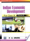 Indian Economic Development For Class Xi Book