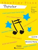 Pdf ShowTime Piano Popular - Level 2A