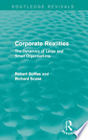 Corporate Realities  Routledge Revivals