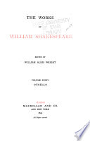 The Works Of William Shakespeare Othello