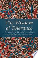 The Wisdom of Tolerance Book