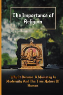 The Importance of Religion Book PDF