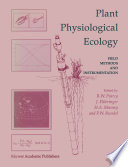 Plant Physiological Ecology Book