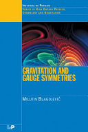 Gravitation and Gauge Symmetries Book
