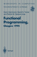Functional Programming  Glasgow 1994