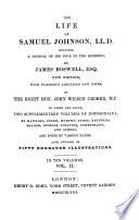 The Life Of Samuel Johnson New Ed