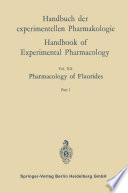 Pharmacology of Fluorides