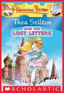 Pdf Thea Stilton and the Lost Letters (Thea Stilton #21) Telecharger
