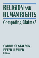 Religion and Human Rights  Competing Claims