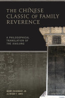 Pdf The Chinese Classic of Family Reverence
