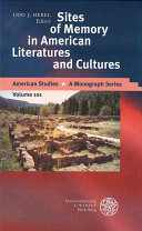Sites of Memory in American Literatures and Cultures Book