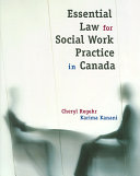 Essential Law for Social Work Practice in Canada Book