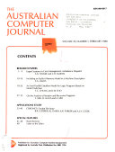 The Australian Computer Journal