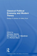 Classical Political Economy and Modern Theory