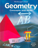 McDougal Concepts and Skills Geometry