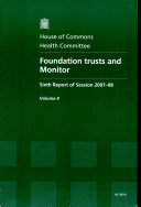 Foundation Trusts and Monitor