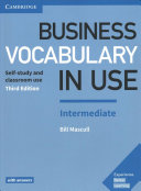 Business Vocabulary in Use  Intermediate Book with Answers