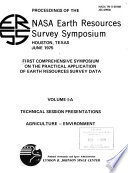 First comprehensive symposium on the practical application of earth resources survey data : proceedings of the NASA Earth Resources Survey Symposium, Houston, Texas, June 1975