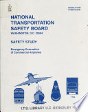 Emergency Evacuation of Commercial Airplanes