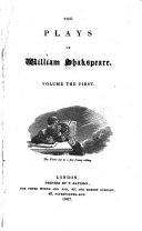 The Plays of William Shakspeare: Life of Shakespeare