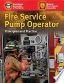 Fire Service Pump Operator