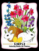 Simple Coloring Books for Seniors