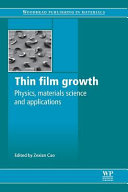 Thin Film Growth  Physics  Materials Science and Applications