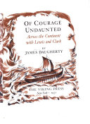 Of Courage Undaunted Book