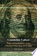 Counterfeit Culture Book