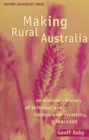 Making Rural Australia