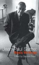 Jean Paul Sartre  Basic Writings