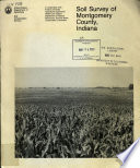 Soil Survey Of Montgomery County Indiana
