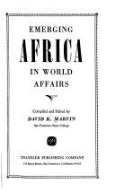 Emerging Africa In World Affairs