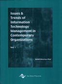 Issues   Trends of Information Technology Management in Contemporary Organizations