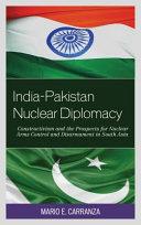 India Pakistan Nuclear Diplomacy