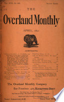 Overland Monthly and Out West Magazine Book