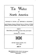 The Wolves of North America  Their history  life habits  economic status  and control  by S  P  Young Book