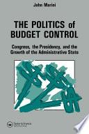 The Politics Of Budget Control