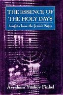 The Essence of the Holy Days Pdf/ePub eBook