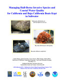 Managing Hull Borne Invasive Species and Coastal Water Quality for California    Managing Hull Borne Invasive Species and Coastal Water Quality for California