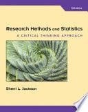RESEARCH METHODS/STATISTICS CR