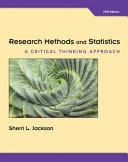 RESEARCH METHODS STATISTICS CR