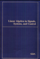 Linear Algebra in Signals, Systems, and Control
