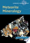 Meteorite Mineralogy