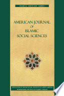 American Journal Of Islamic Social Sciences 26 1