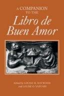 A Companion to the Libro de Buen Amor ebook