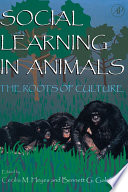 Social Learning In Animals Book